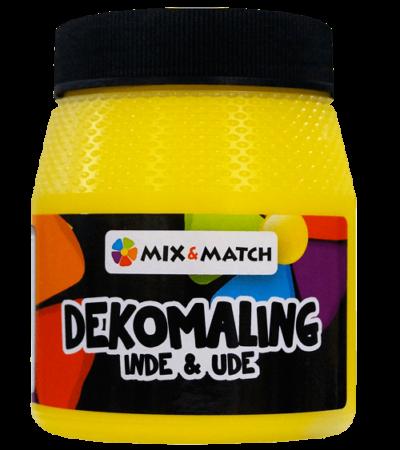 dekomaling gul