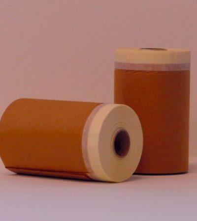 malertape med papir