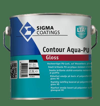 sigma contour aqua gloss