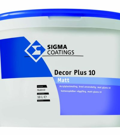 sigma decor plus 10